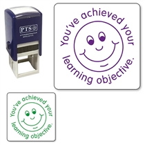 You've Achieved Your Learning Objective Stamper (25mm)