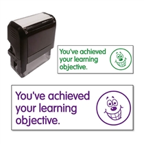 You've Achieved Your Learning Objective Stamper (38mm x 15mm)