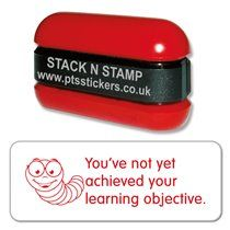 You've Not Yet Achieved Your Learning Objective Stamper - Stack N Stamp
